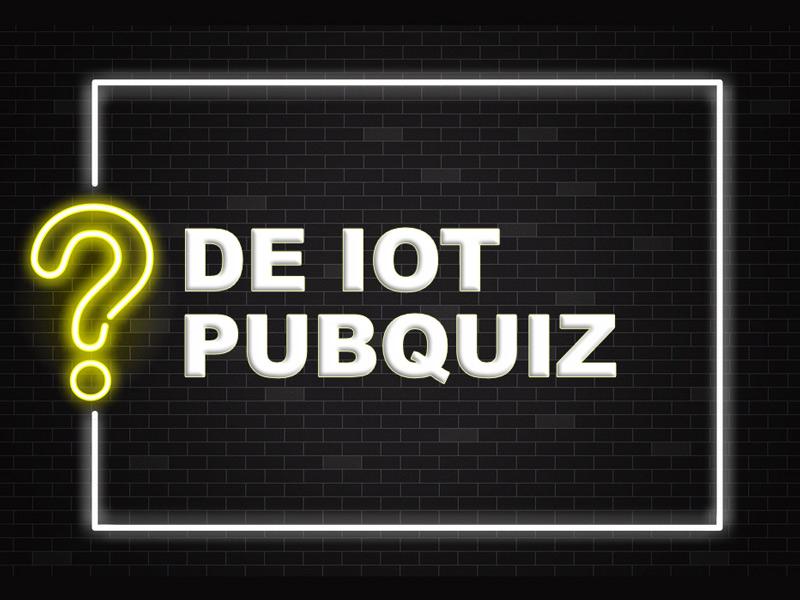 IoT Pubquiz 18 september